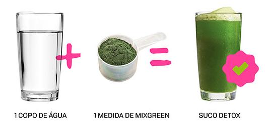 mix green como tomar