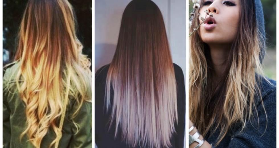 Ombré hair: mel, loiro, caramelo, platinado, ruivo, acobreado. Cuidados com ombré hair…