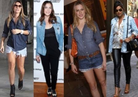 Camisa jeans: um coringa de estilo e diferenciais.