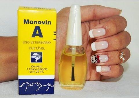 monovin a nas unhas