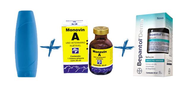 fórmula do shampoo bomba com monovin a
