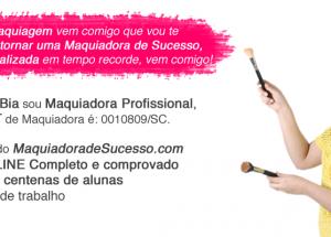 Maquiadora de sucesso: sua formação profissional em 5 semanas