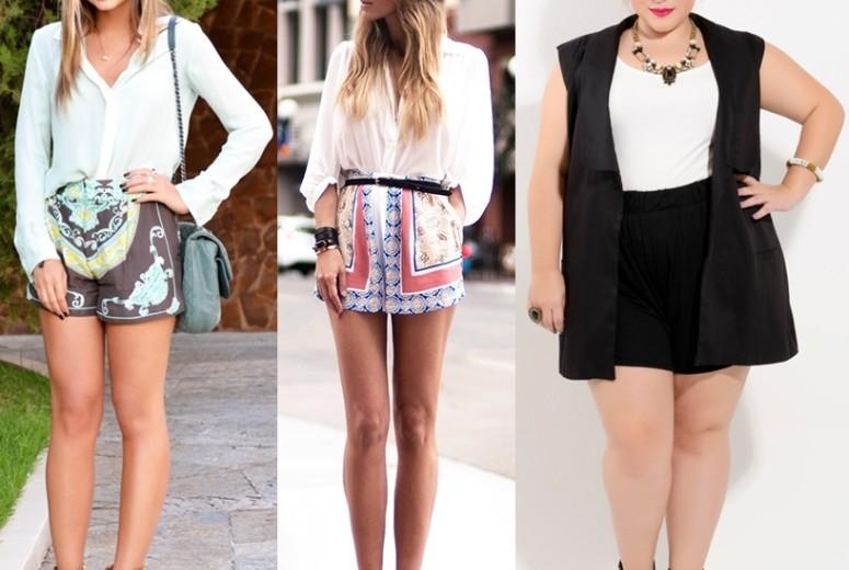 Shorts de cintura alta: uma das peças mais democráticas do guarda roupa