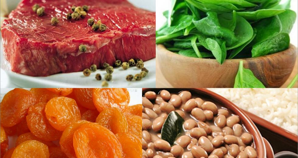 Alimentos ricos em ferro: melhore a sua saúde!