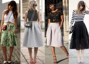 Saia Midi: Saiba como usar os modelos plissado, godê, justo, preto, jeans e muito mais!