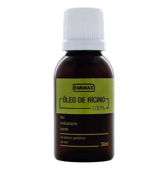 óleo de rícino farmax