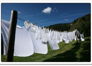 Lavar roupas brancas: dicas importantes e cuidados