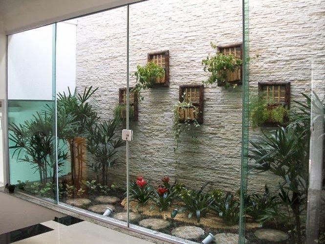 Jardim de inverno uma forma elegante de criar um ambiente for Cascata da interno