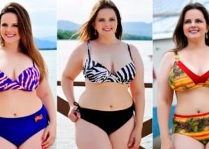 Biquíni para gordinhas: moda plus size de praia com tudo!