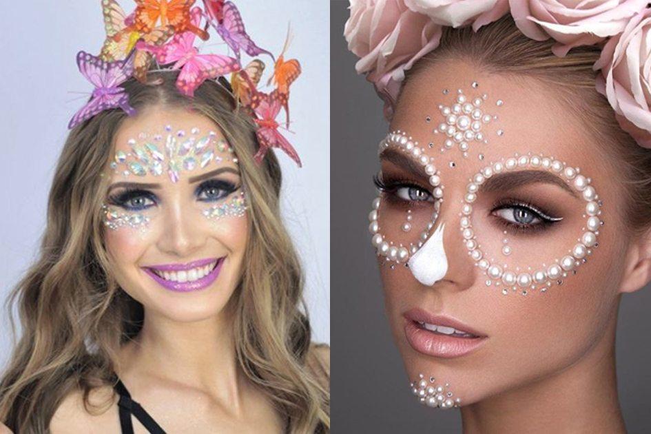 maquiagem carnaval inspiração diferente