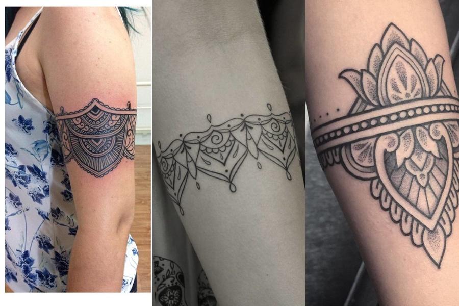 tatuagens femininas tribais para desenhar no braço