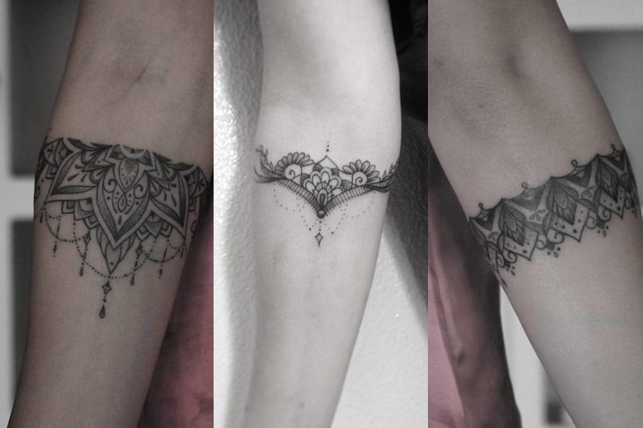 3 opções de tatuagens tribais