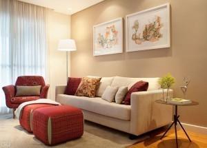 Cores de tintas para a sala: mude sua decoração com estilo