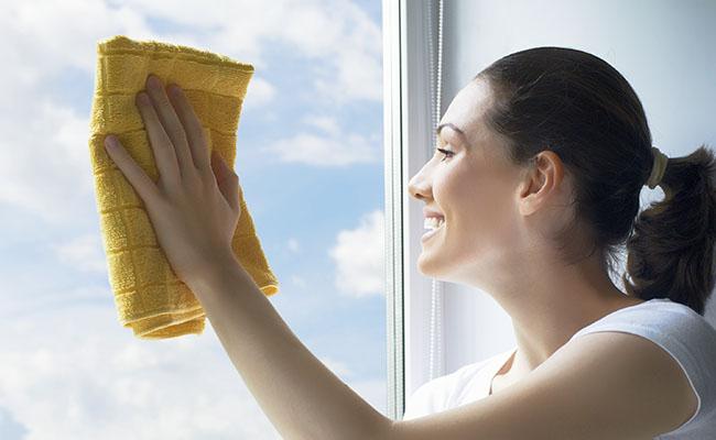 Como usar o limpador de janelas adequadamente?