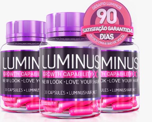 Luminus Hair embalagem