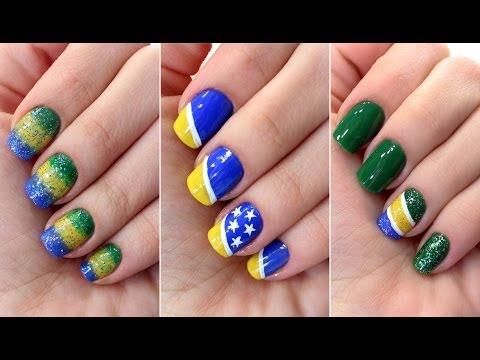Unhas decoradas do Brasil: estilo nessas olimpíadas!