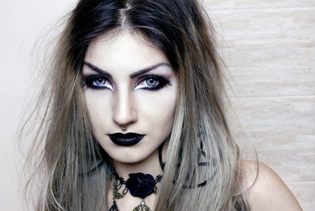 maquiagem halloween basica