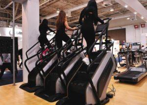 Simulador de escada: excelente para pernas torneadas