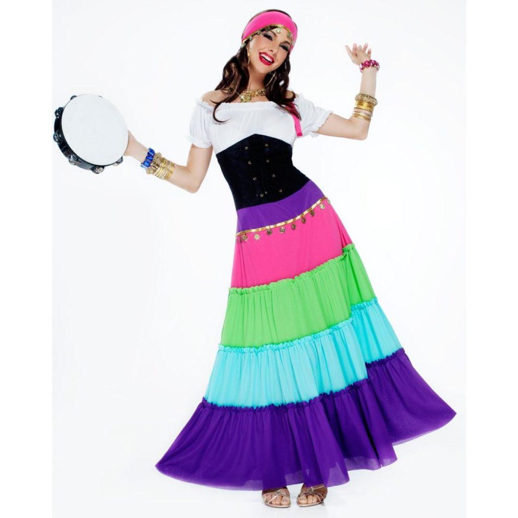 fantasia de carnaval de cigana