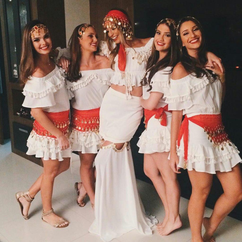 fantasia de carnaval para amigas de ciganas