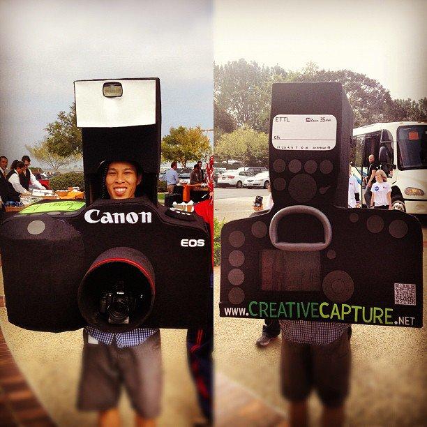 fantasia criativa de máquina fotográfica