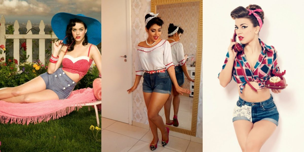 fantasia feminina Pin-Up