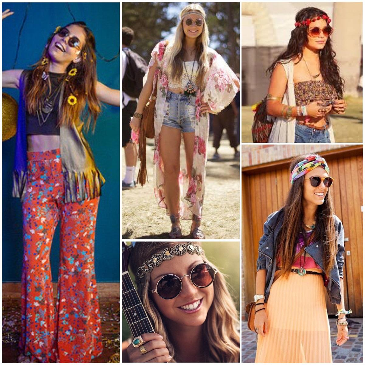 ideias de fantasia feminina para o carnaval de hippie