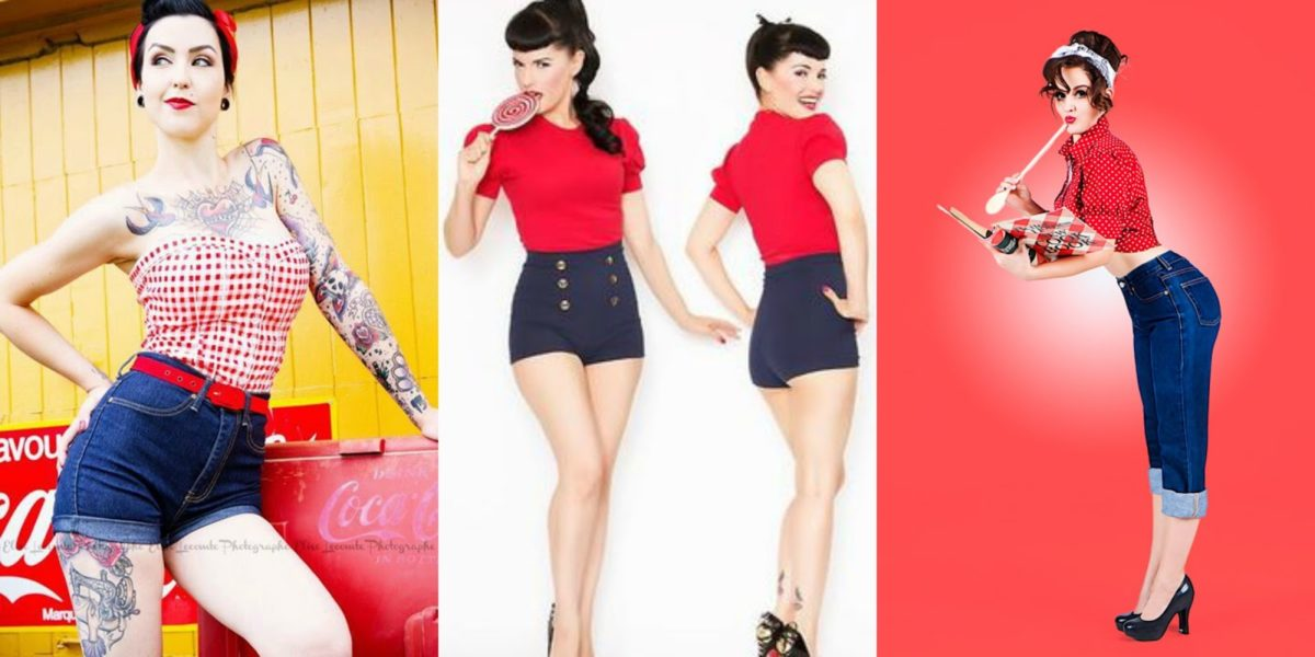 fantasia feminina criativa de carnaval Pin-Up