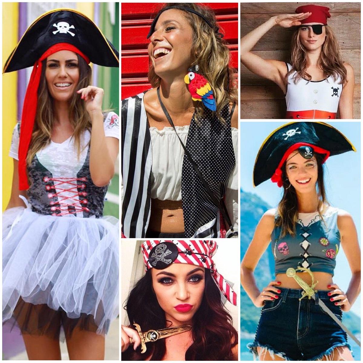 fantasias femininas de pirata