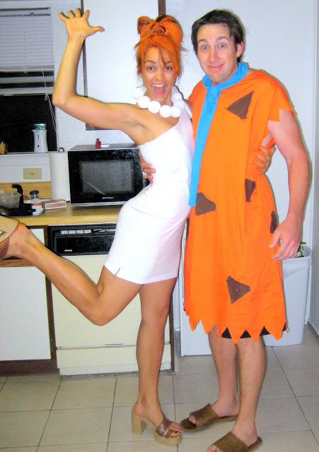 fantasia de casal para o carnaval os flintstones