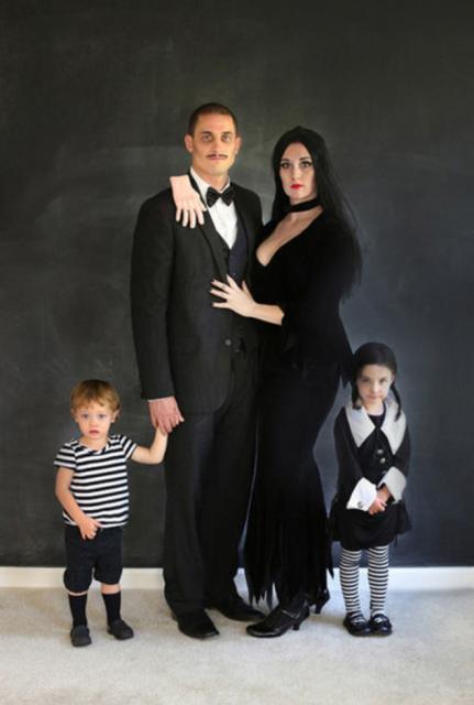 fantasia para casal com filhos