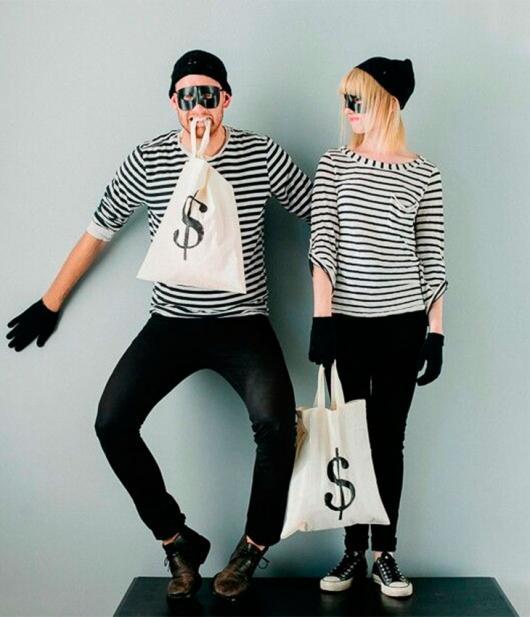 fantasia criativa de ladrões