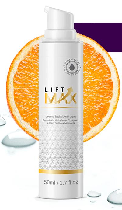 frasco do lift max como usar