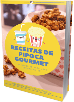 receitas de pipoca gourmet