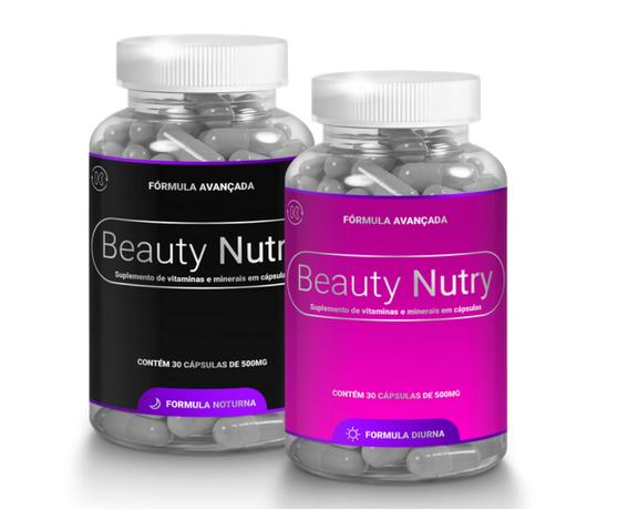 Beauty Nutry embalagem de produtos