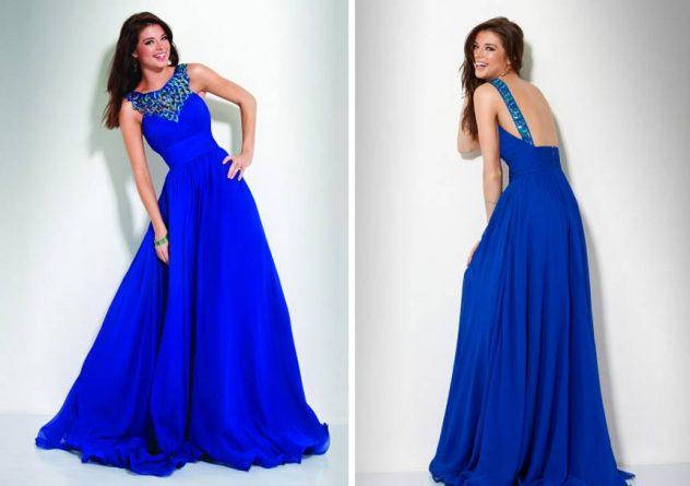 modelo de vestidos de formatura longo