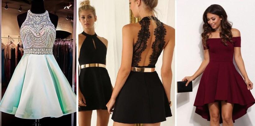 modelo de vestidos de formatura curto