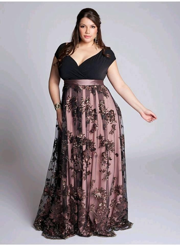 modelo de vestidos de formatura plus size