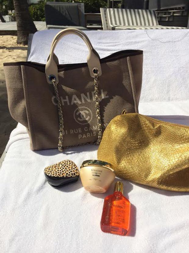 bolsa de usar na praia
