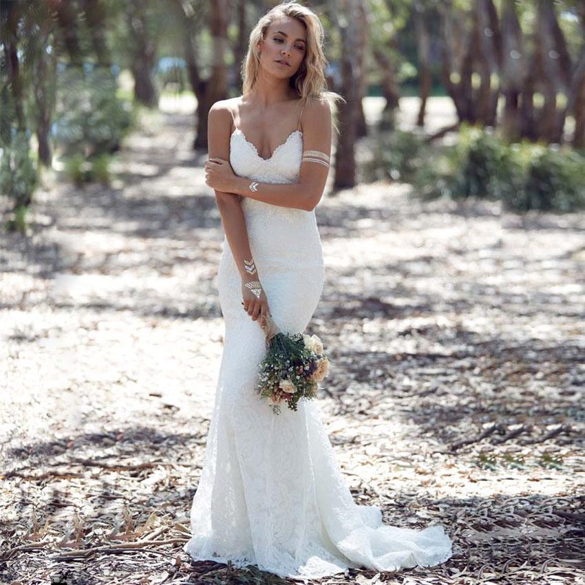 modelo de vestido de noiva sereia com renda