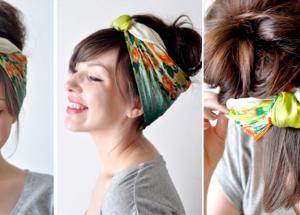 Lenços: No cabelo, no pescoço, na bolsa, no chapéu!