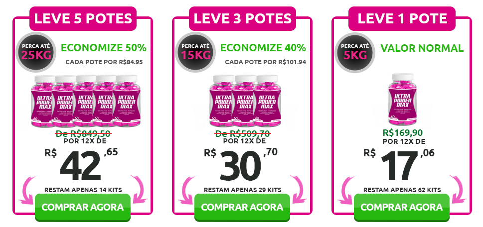 preços ultra power max
