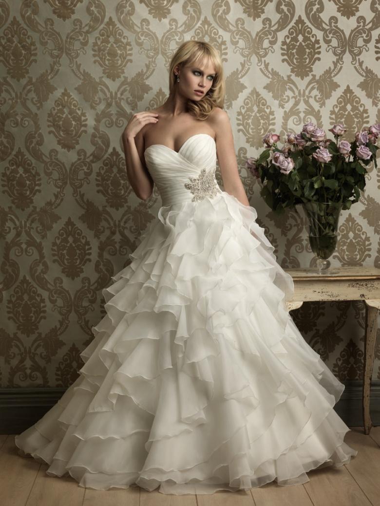 vestido de noiva tomara que caia princesa
