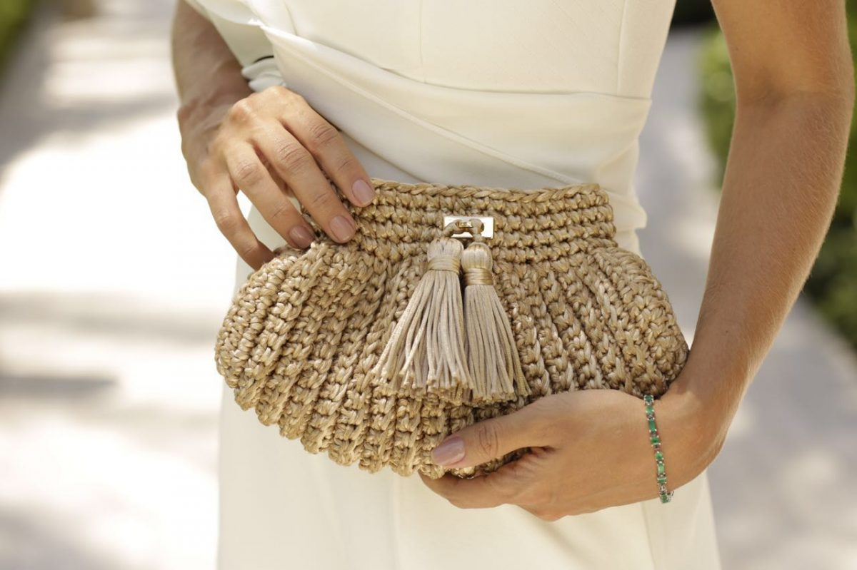 look com  Clutch de crochê