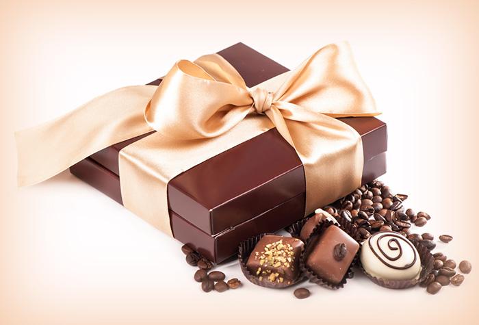 Presente de natal para a sogra chocolate