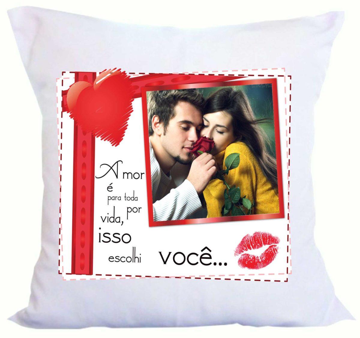 almofadas presente para namorado