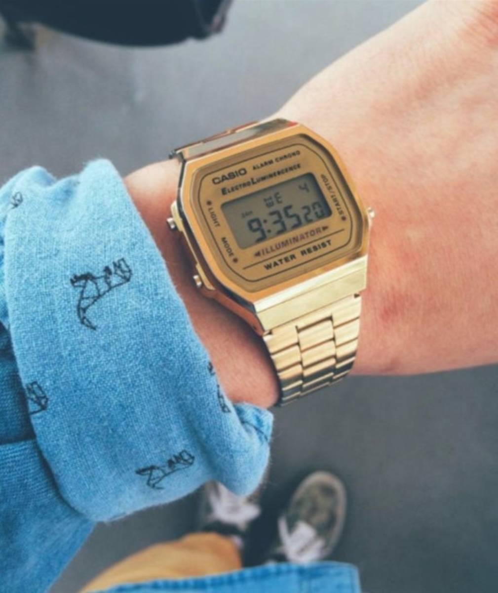 d33ba604e57 Relógios Dourados  Sofisticação e modernidade! Saiba mais aqui!