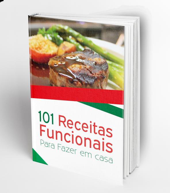 capa do e-book 101 Receitas funcionais