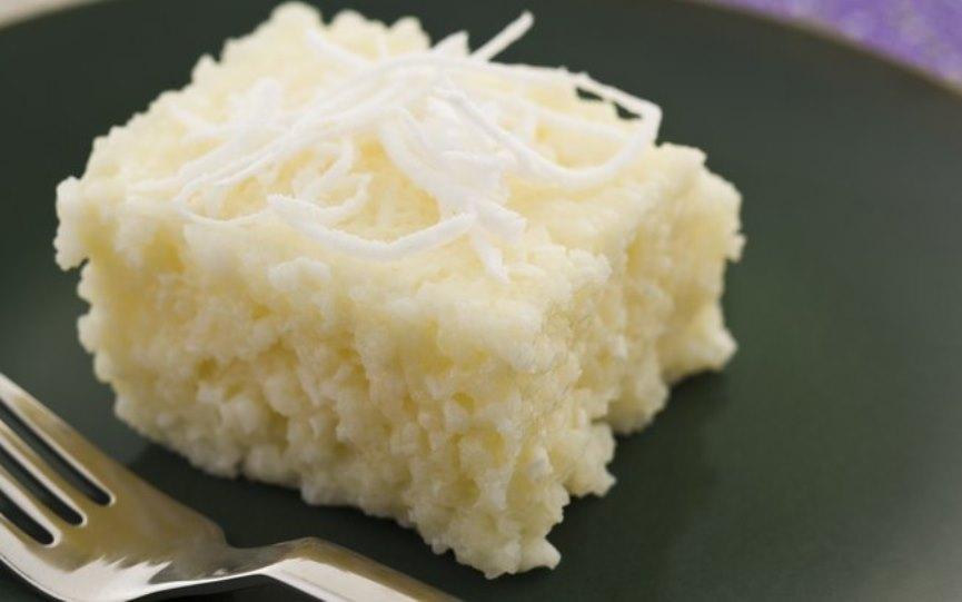 Lanches funcionais bolo de tapioca