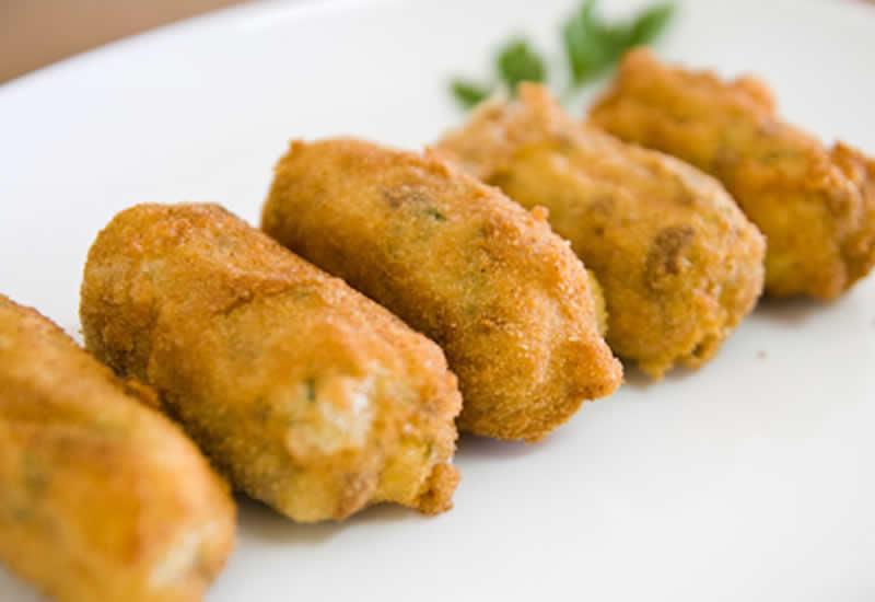 Receitas funcionais croquete de batata doce